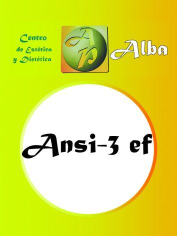 Ansi-3 EF