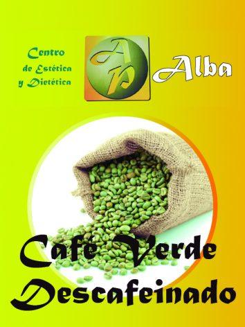 Café verde descafeinado – 60 caps