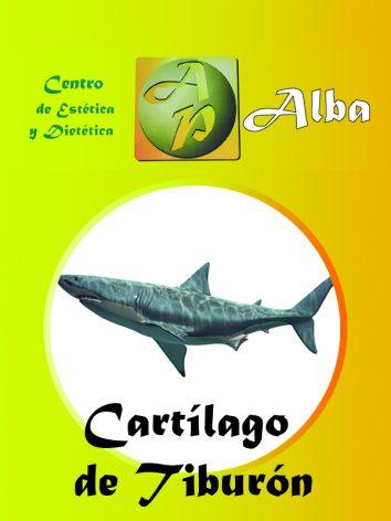 Cartílago tiburón – 225 caps