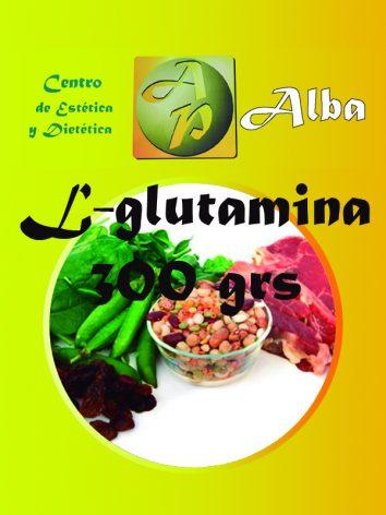 L-glutamina – 300 grs