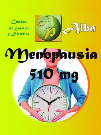 Menopausia 510 mg – 60 caps