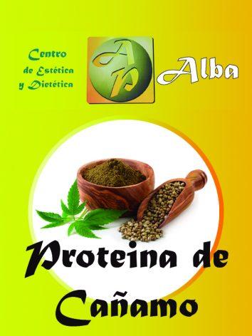 Proteína de cáñamo 600 gr